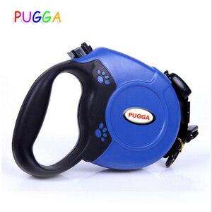 Image 2 - Новый Выдвижной Поводок для собак 5 м 8 м, автоматическое удлинение поводков для собак средних и больших размеров, сумки для мусора, дозатор для очистки мусора