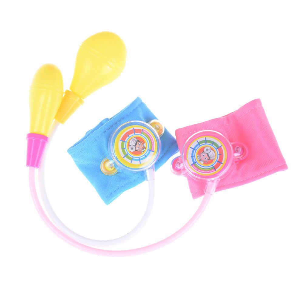 Детский набор доктора медицинские игрушки Набор доктора игрушки Детский Набор доктора говоря в домашних условиях врач-медсестра, измеритель артериального давления, игрушки От 2 до 4 лет