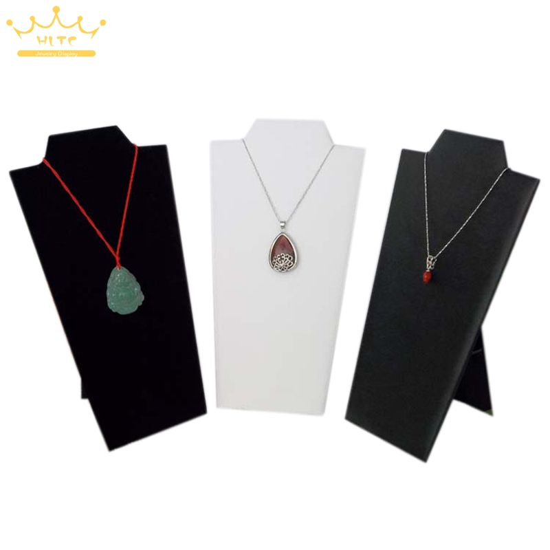 цена на 20pcs/lot Necklace Display Stand Women Jewelry Organizer Holder Storage Case Bracelet Display Rack
