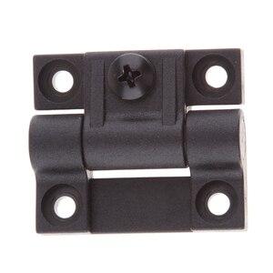 Image 5 - 1.65x1.42 אינץ 4 Countersunk חורים מתכוונן מומנט עמדת בקרת ציר שחור דלת צירים להחליף עבור Southco E6 10 301 20
