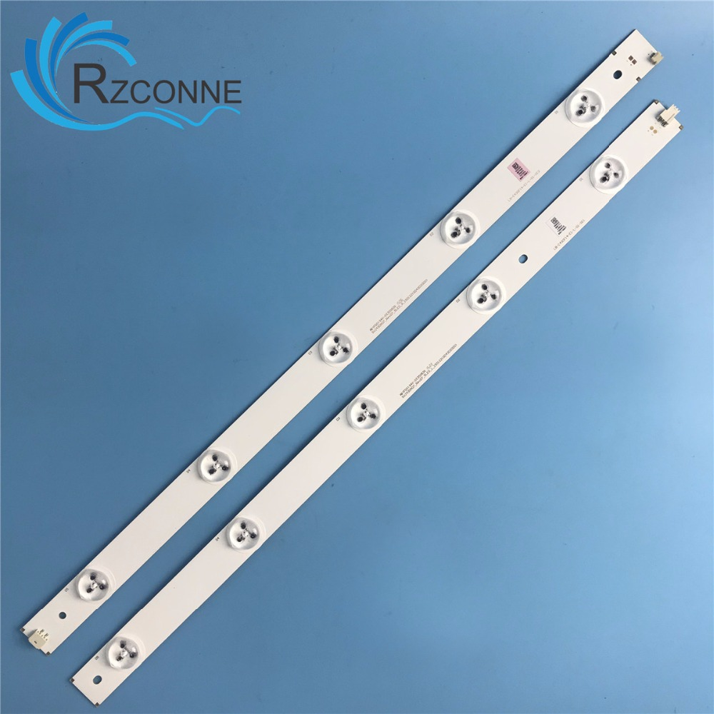 medium resolution of 855mm led backlight strip 10leds for changhong 43