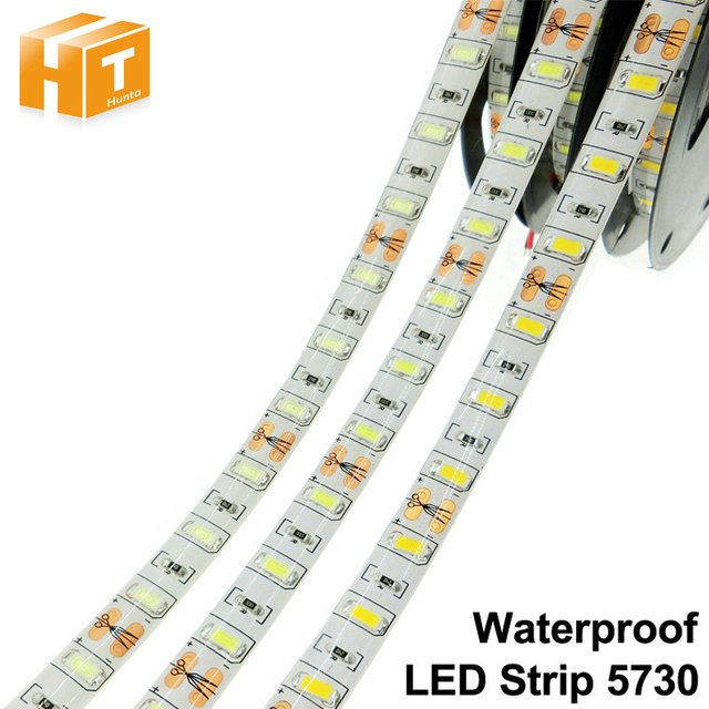 LED Strip 5730 Flexible LED Light DC12V 60LED/m 5m/lot Brighter than 5050 5630 LED Strip.