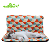 Hammock for Cats Pet Radiator Window Sofa Cooling Hanging Beds Lounger Bearings for Kitten Ferret Puppy Cat House Cushion Perch