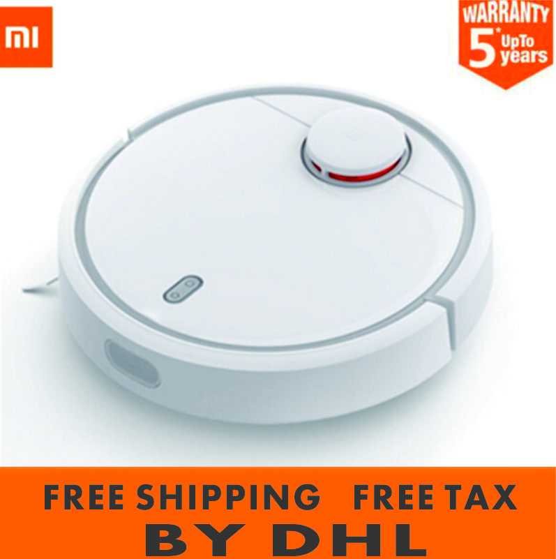 Free TAX Original XiaoMi MI Robot Vacuum Cleaner for Home Automatic Sweeping Smart Planned WIFI APP original xiaomi mi robot vacuum