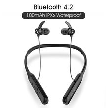 Asli Syllable Q3 Kontrol Volume Bluetooth V4.2 Earphone 6 Jam Kebisingan Pengurangan Wireless Surround Stereo Earbud Q3 Headset(China)