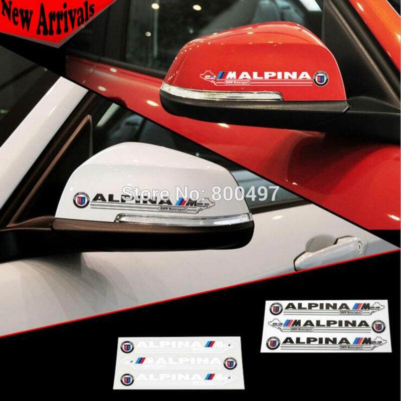 ٩ ۶20 X Newest Design Car Rear View Decoration Stickers Car