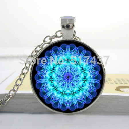 Akra pendant throat chakra necklace aqua blue chakra spiritual akra pendant throat chakra necklace aqua blue chakra spiritual pendant yoga necklaceglass picture pendant aloadofball Gallery