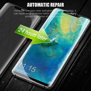 Image 3 - 2Pcs 100D Hydrogel Protective Film For Huawei P30 P40 P20 Pro Mate20 Pro Screen Protector Film For Honor 30 20 Pro 9X 8X 10 Film