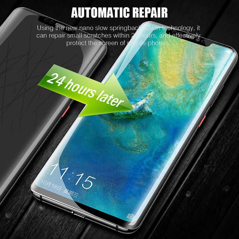 Película protectora de hidrogel suave para Huawei P30 P20 Pro Mate 20 Pro Lite película protectora de pantalla para Honor 20 Pro 9X8X10 Lite película