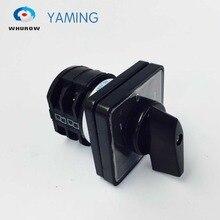 LW8 10D202/2 przenośny promocja 380 V 10A 8 zaciski 3 pozycje obrotowa kamera przełącznik zmiany przydatne narzędzie hurtownie