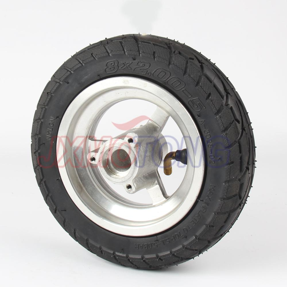 обсуждение установки заднего пневматического колеса для kugoo s
