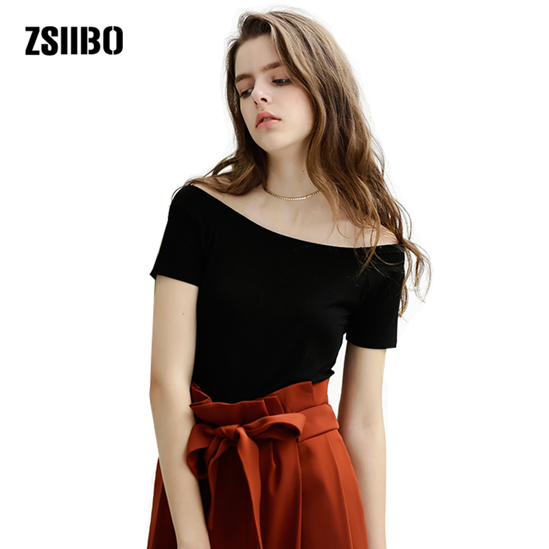 Aliexpress.com : Buy ZSIIBO 2017 Fashion Sexy Off Shoulder ...