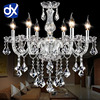 Noble Luxurious Export K9 Clear Crystal Chandelier 6 Arms Optional Class A K9 Lustres De Cristal