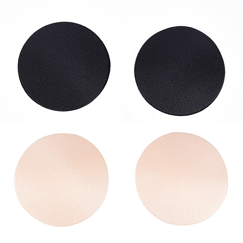 2eb645533 1 Pair Cool Reusable Self Adhesive Silicone Breast Nipple Cover Bra Pad  Invisible Breast Petals for Party Dress