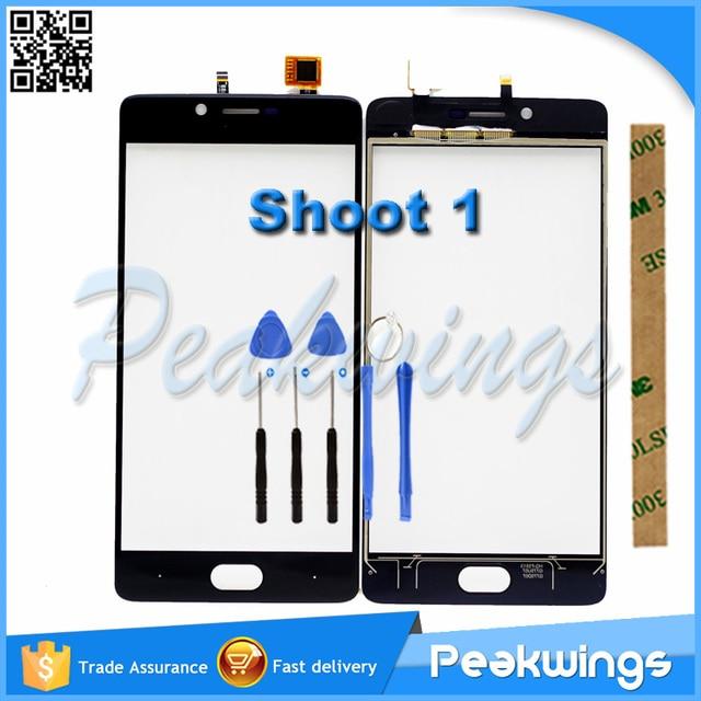 For Doogee Shoot 1 Touch Screen Digitizer Panel Sensor+3M Sticker