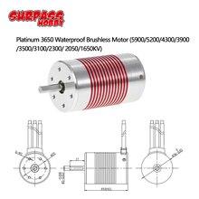 цена на SURPASSHOBBY Platinum Waterproof Series 3650 3100KV 3500KV 3900KV 4300KV 5200KV Sensorless Brushless Motor for 1/10 RC Car Truck