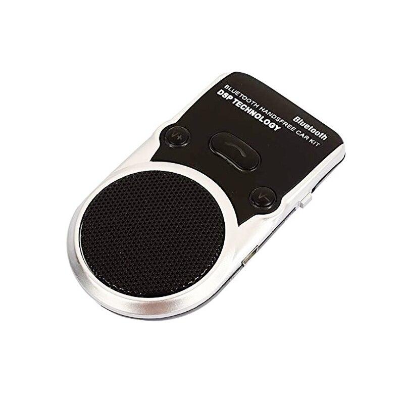 Solaire USB Chargeur De Voiture Bluetooth Kit MP3 Voiture Mains Libres Intelligent de Charge Solaire Pare-Soleil De Voiture Microphone