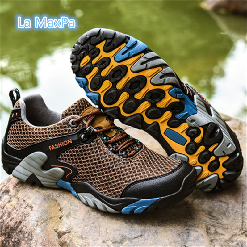 High qualit Outdoor men Sneakers sport shoes men Running shoes Anti-skid Off-road Walking Athletic Trainers colombia mexico 2017 size 36 44 sneakers men shoes outdoor sports shoes men running shoes for men walking non slip off road athletic trainers v5