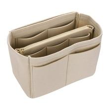 Hot Sale Makeup Bag Cosmetic Cases Felt Bag Organizer Insert Cosmetic Bags Makeup Case Travel Toiletry Bag Handbags Organizer
