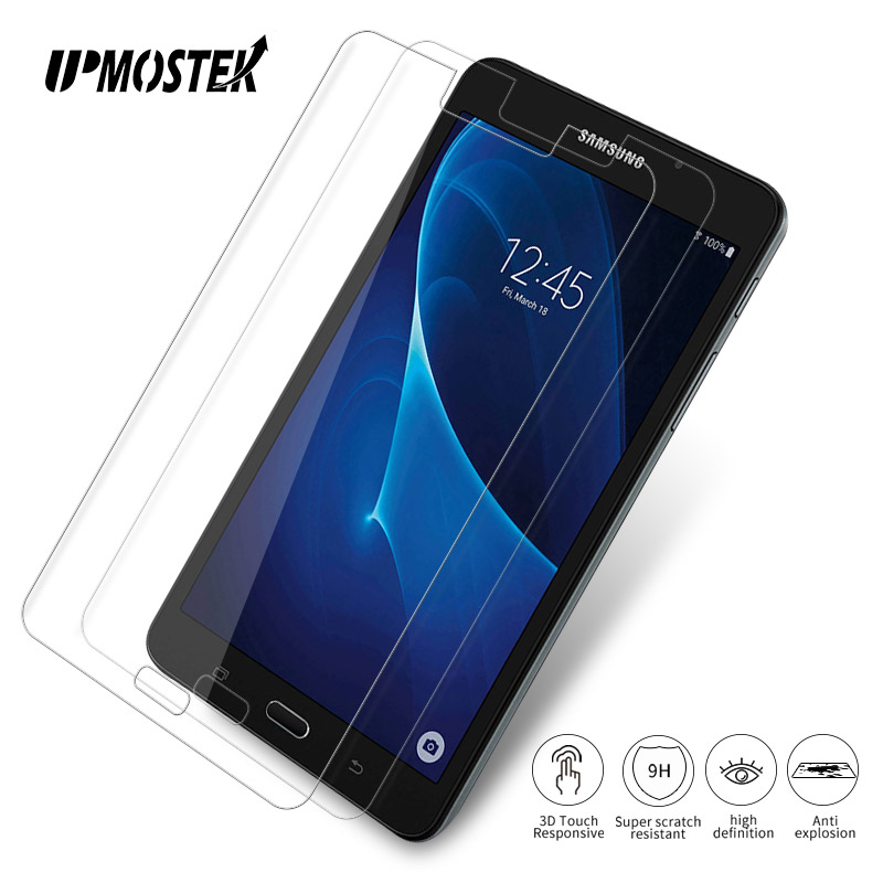 2PCS Tempered Glass For Samsung Galaxy Tab 2 Tab 3 4 Tab A Tab E 7 inch P3100 T230 T280 Tablet Screen Protector Protective Film protective clear screen protector film guard for samsung t3100 t3110 galaxy tab 3 transparent