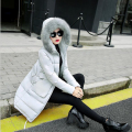Plus Size 2016 New Fashion Women's Winter Jacket Loose Thicken Female Long Cotton Coat Long Hooded Faux Fur Parka Coat