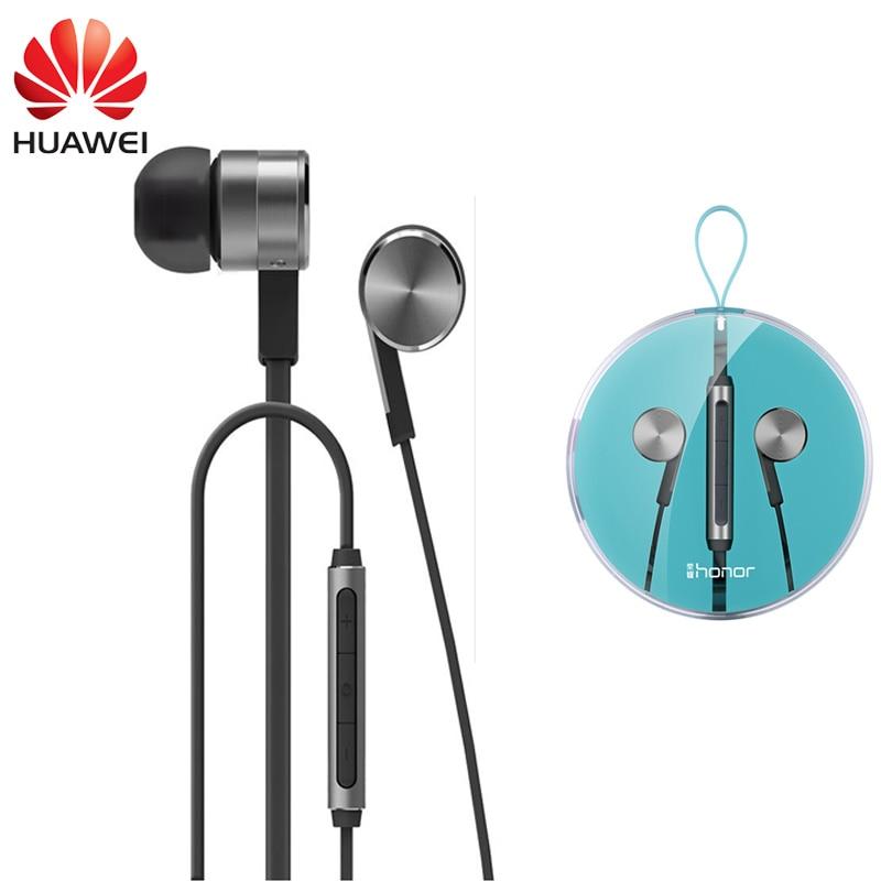 Huawei Honor Engine 2 AM13 Earphone Stereo Piston In-Ear Earbud Mic Earphone for Honor Plus 3X 3C P7 Mate 8 P9 Xiaomi Meizu
