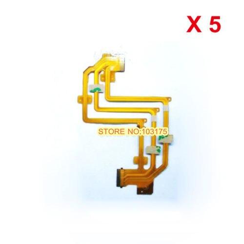 5 pieces LCD flex cable for Sony SR32E SR33E SR42E SR52E SR62E Camera