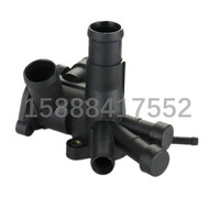 100pcs Auto Cooling System Thermostat Housing Thermostat Cover Thermostat Coolant Water Outlet 030121117M 030 121 117M