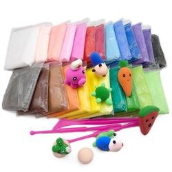 Super ligero modelado en arcilla Arcilla De moldear para niños polímero de arcilla seca al aire juguete creativo DIY arcilla con 3 herramientas niños arcilla educativa