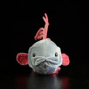 Image 2 - 56CM Length Real Life Oarfish Stuffed Toys Super Soft Ribbon Fish Plush Toy Sea Animal Toys For Kids Birthday Gifts