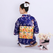 цена на Women's Four Seasons Can be Used in Formal Wear Traditional Anti-wrinkle Thick Material Kimono Bathrobe