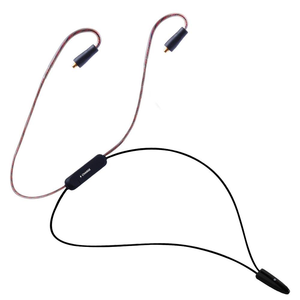YINYOO BT4 Wireless Bluetooth Cable 4.1 APTX HIFI Earphone MMCX/2PIN Cable For V20 V80 KZ ZS10/AS10 Yinyoo HQ5 HQ6 HQ8 цены