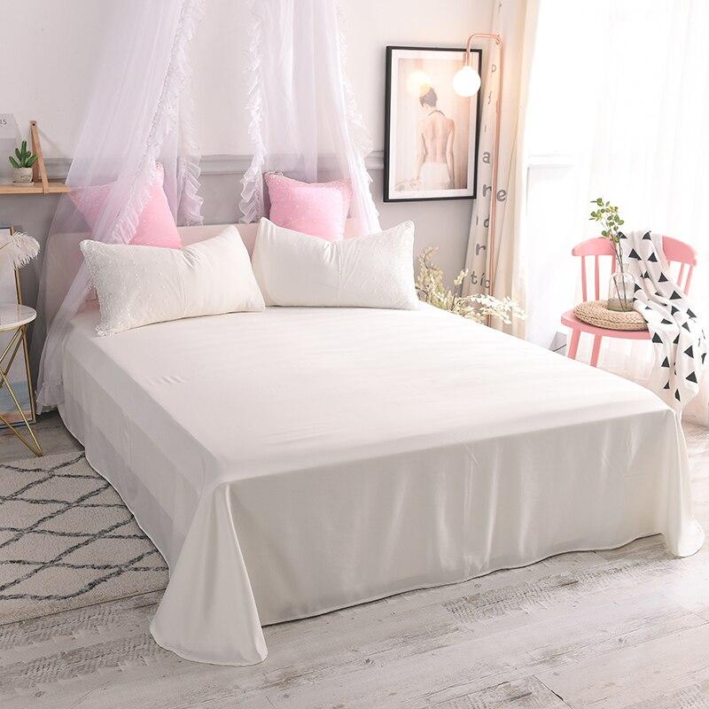 Prinzessin stil rosa grün bettbezug set Wasser waschen seide bettwäsche sets twin königin mädchen nette spitze bettwäsche sets - 2