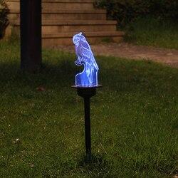 2 Pcs Solar Acrilico Paesaggio Luce Impermeabile Piccola Lampada per Yard Garden Villa Strada ALI88
