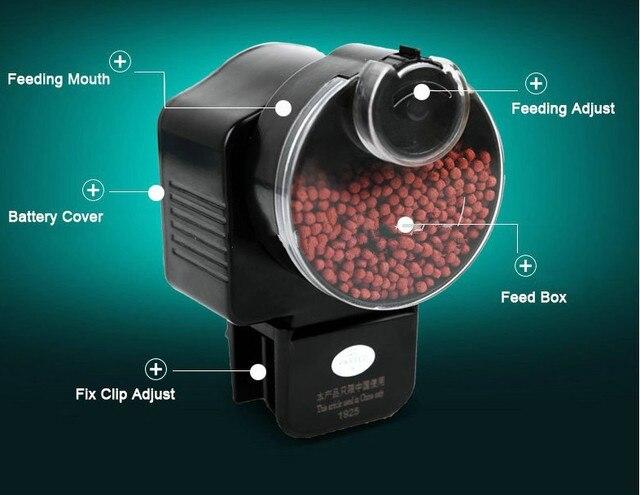 Automatic Aquarium Bowl Food Feeder Fish Battery Digital Fish Tank Pet Feeder Automatic Timing Feed Fish