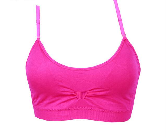 PRAYGER Wholesale 200pcs Women Sexy Dew Back Push Up Shaper Bra Push Up Bra padded bras colorful Seamless fashion Bras Tops