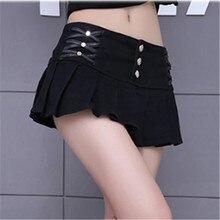Черно-белые плиссированные мини-юбки-карандаш для женщин s летняя модная богемная Ночная Клубная Сексуальная женская короткая юбка Faldas Mujer