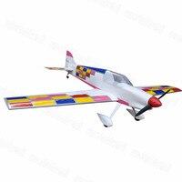 Flight Model F3A 55 4 50 Class Nitro RC Airplane Balsa Wood Plane Kit Trainer