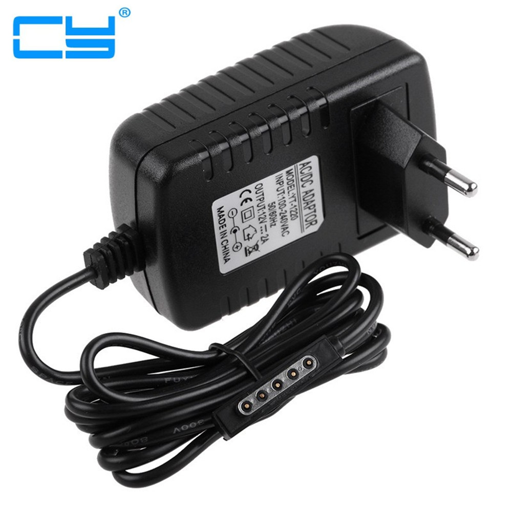 EU Plug 12V 2A AC Adapter Tablets Battery Chargers For Microsoft Surface RT Pro 2 Windows 8 Tablet PC 64GB 128GB 256GB 512GB