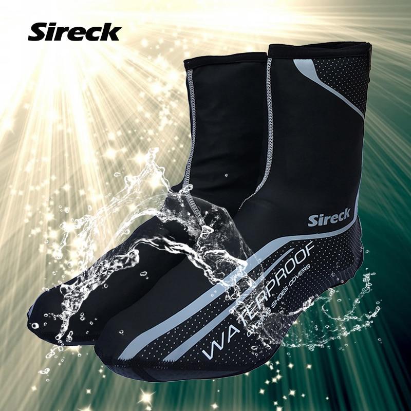 Outdoor Cycling Shoe Covers Waterproof Warm Bicycle Bike Shoes Rain Snow Thermal