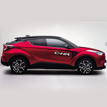 World Datong car styling sport sticker For Toyota C-HR Exterior Body Decal Car Vinyl Film decals auto