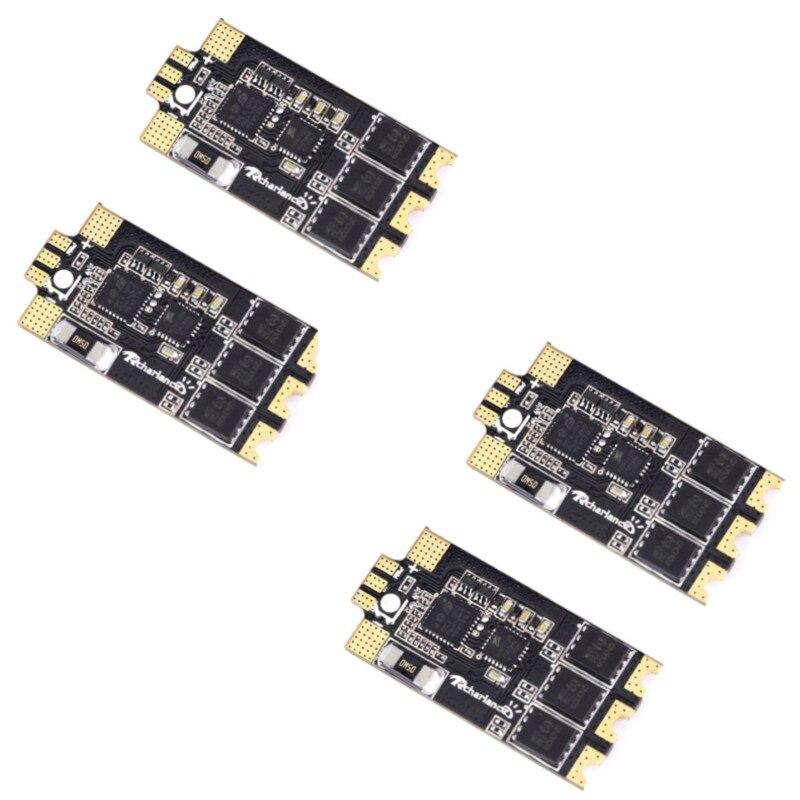 4PCS Razor32 V2 35A BLheli_32 3-6S DShot1200 ESC W/ RGB LED & Current Sensor Bidirectional For RC FPV Racing Drone Quadcopter