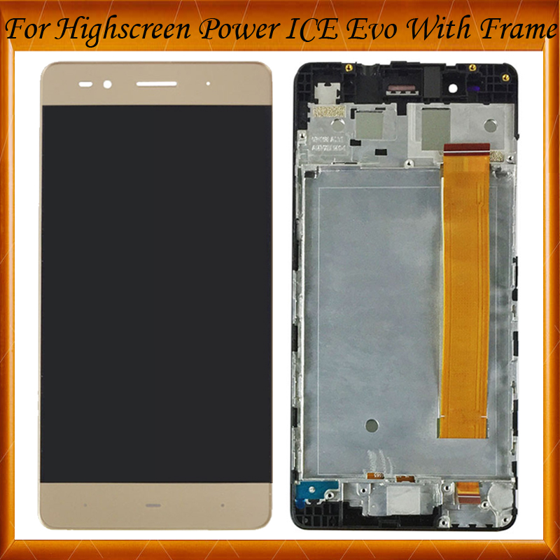 Top Quality For 5 inch Highscreen Power ICE Evo LCD Display+Touch Screen With Frame Digitizer Assembly Replacement IN StockTop Quality For 5 inch Highscreen Power ICE Evo LCD Display+Touch Screen With Frame Digitizer Assembly Replacement IN Stock