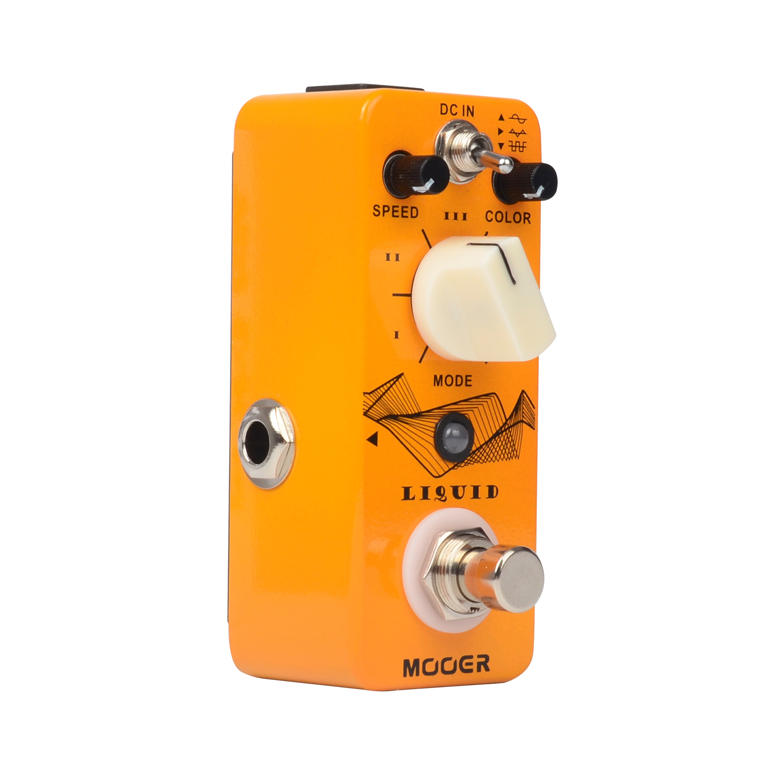 Mooer Liquid Digital Phaser Electric Guitar Effect Pedal Speed Color and Mix Controls Pocket  Size True Bypass Full Matel Shell mooer ninety orange micro analog phaser electric guitar effect pedal true bypass with free connector and footswitch topper