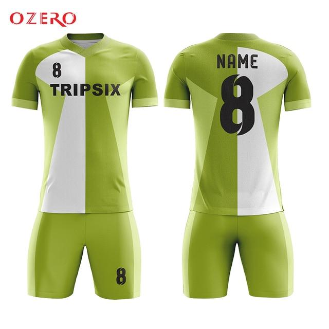 6c201c19c Aliexpress.com   Buy light green sublimated v neck soccer jersey ...