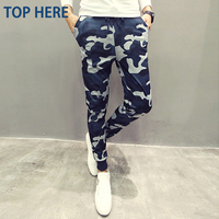 Mens Joggers Camouflage Men Pants Cool Army Skinny Casual Military Trouser Hip Hop Fashion Style Sweatpants