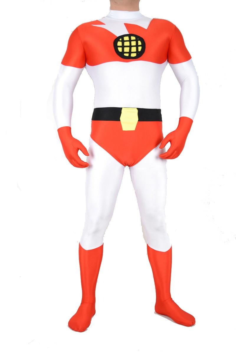 captain planet zentai lycra spandex super hero outfit for halloween