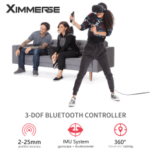 Очки виртуальной реальности VR/AR контроллера с дистанционным управлением по Bluetooth 3 степенями свободы Очки виртуальной реальности VR ручка для Очки виртуальной реальности VR гарнитура