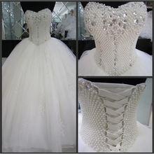 Совершенно новые свадебные платья Гламурное бальное платье с