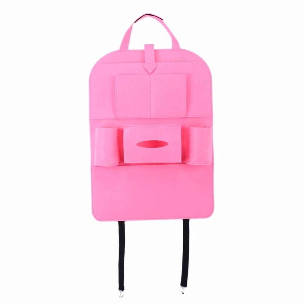 자동 멀티 포켓 뒷자리 수납 가방 카시트 주최자 - 자동차 인테리어 용 액세서리 - 사진 3